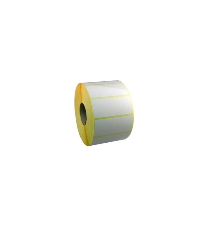 Rollo de etiquetas blancas de 150*100