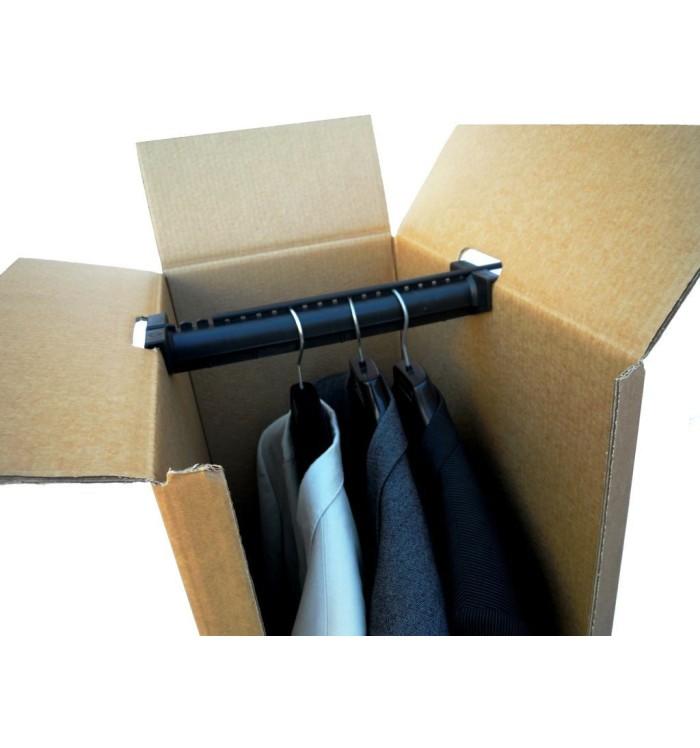 Cajas de 52-34-160, barra con separadores