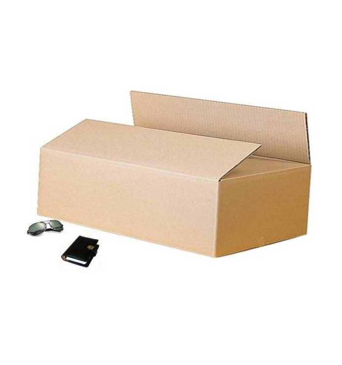 Cajas de cartón de canal simple reforzado de 105-53-34