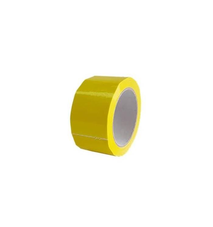 Precinto PVC 50*66, amarillo