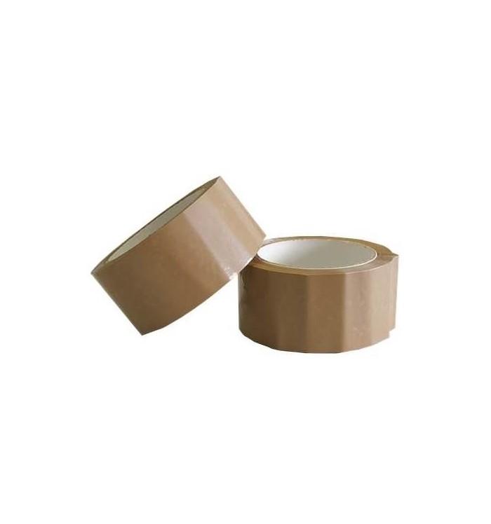Precinto PVC 50*66, marrón