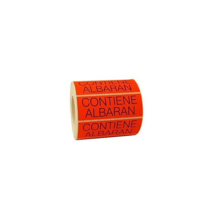 Etiquetas CONTIENE ALBARÁN