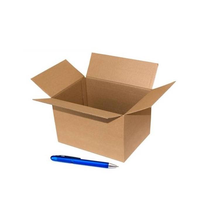 Cajas de cartón de canal simple de 16-14-12