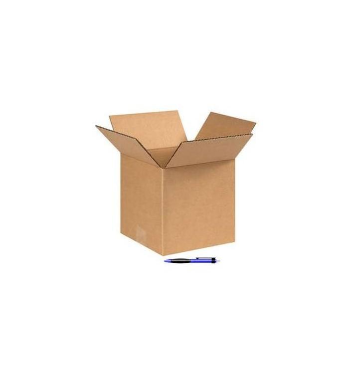 Cajas de cartón de canal simple de 26-26-31