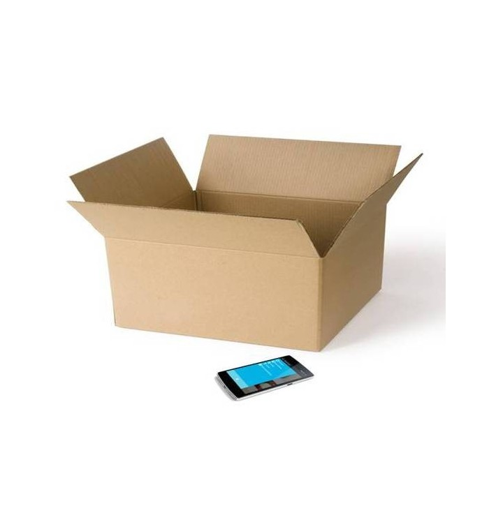 Cajas de cartón de canal simple de 38-35-20