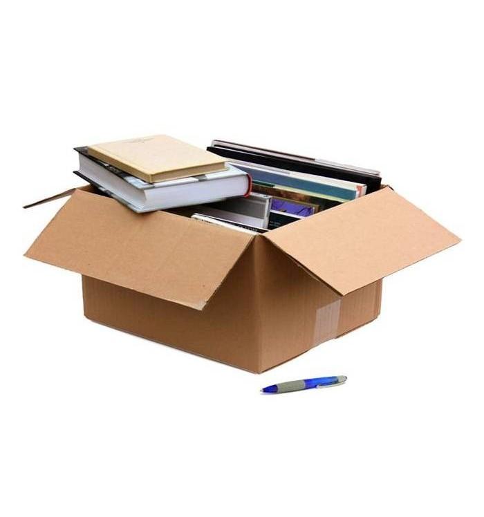 Cajas de cartón de canal simple de 37-25-33 Sans pequeña nueva