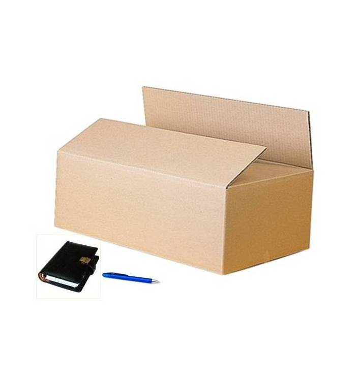 Cajas de cartón de canal simple de 50-30-22