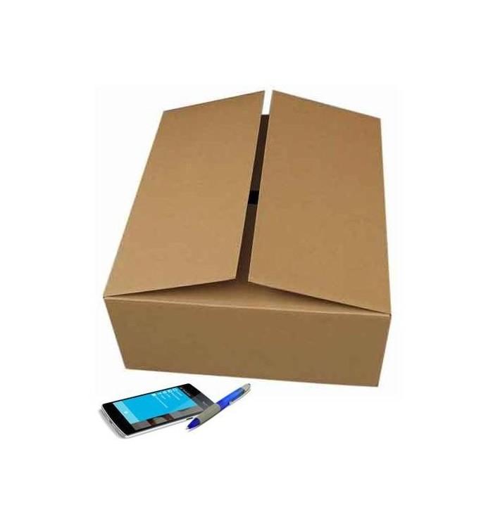 Cajas de cartón de canal simple de 60-40-15
