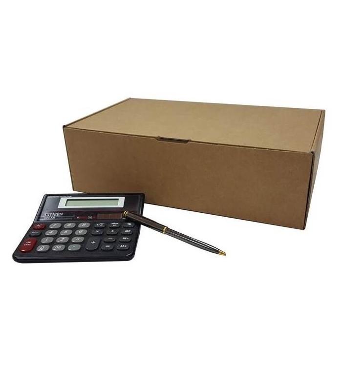 Cajas de cartón automontables F-421 de 34-20-10