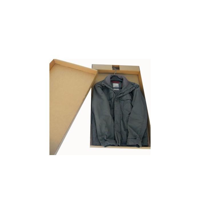 Cajas de cartón de tapa y fondo para una prenda de 80-52-7