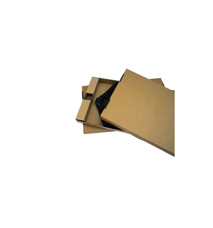 Cajas de cartón de tapa y fondo para una prenda de 100-52-7