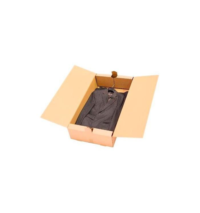 Caja de cartón capiculada de 125-53-15