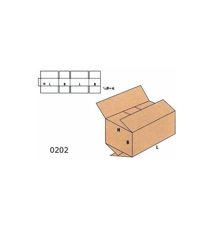 Cajas de cartón de canal doble de 60-40-40 B5