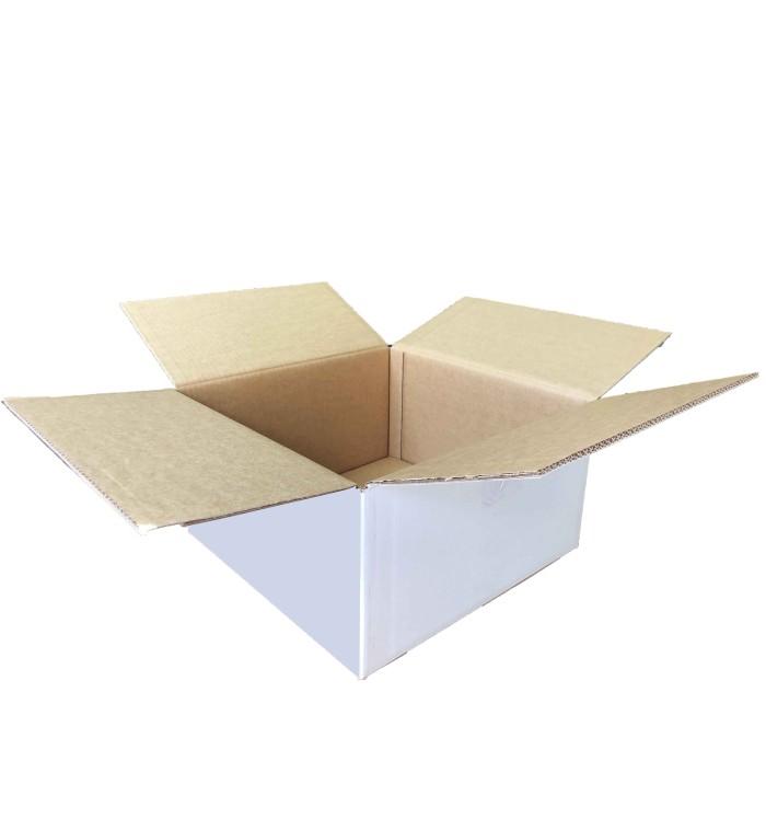 Cajas de cartón blancas de 44 33 27