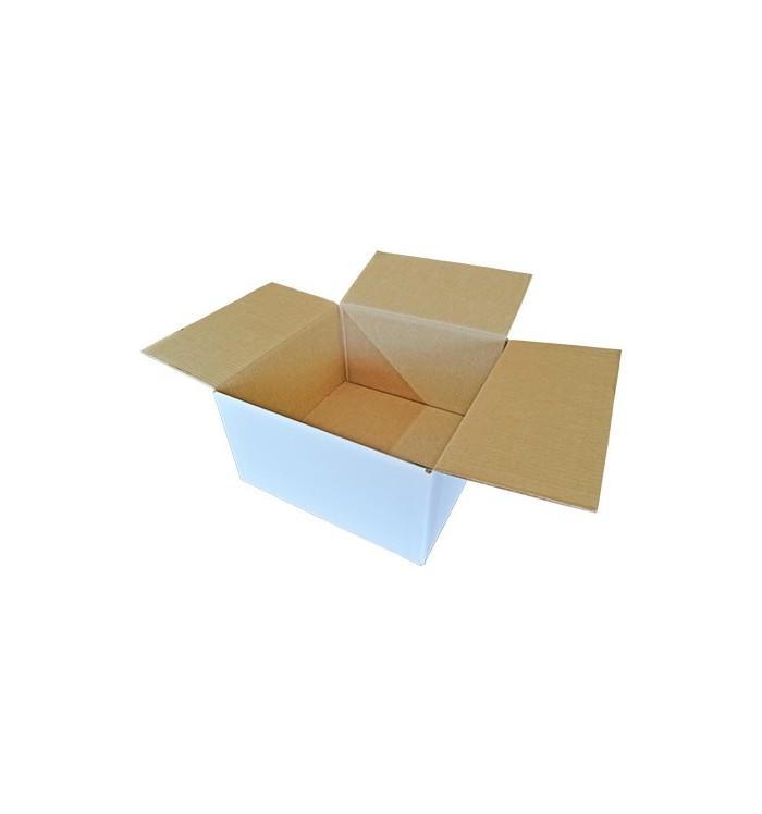 Cajas de cartón blancas de 40-40-22