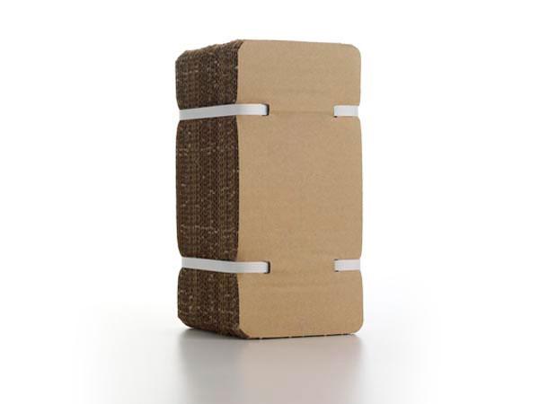 cartón reciclado
