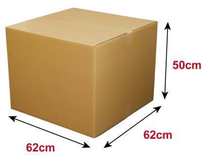 como medir una caja de carton