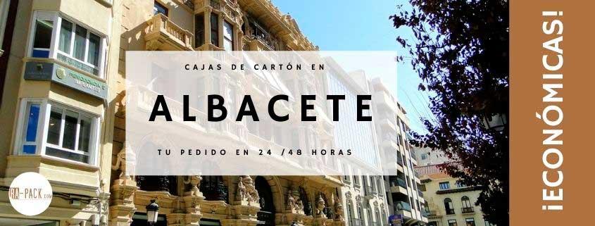 Cajas de cartón baratas y embalajes en Albacete