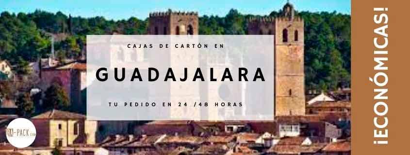 Cajas de cartón baratas en Guadajalara