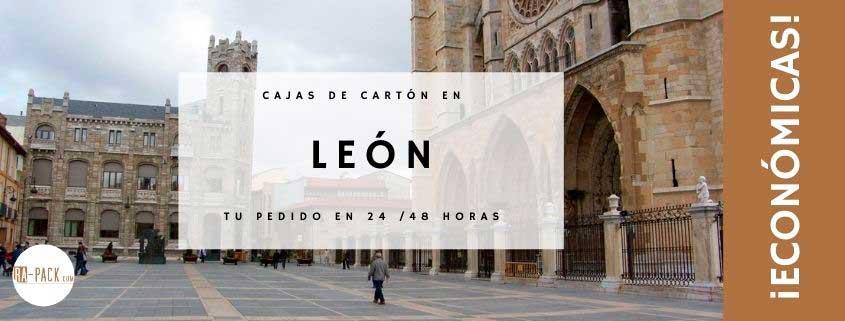 Cajas de cartón en León bartas y de calidad