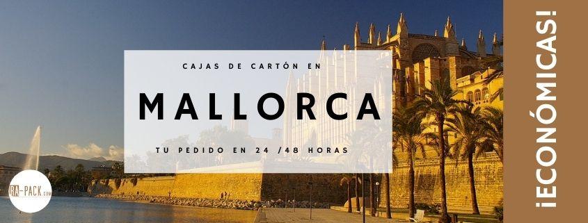 Cajas cartón baratas Mallorca