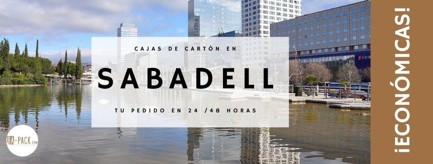 Cajas de cartón en Sabadell