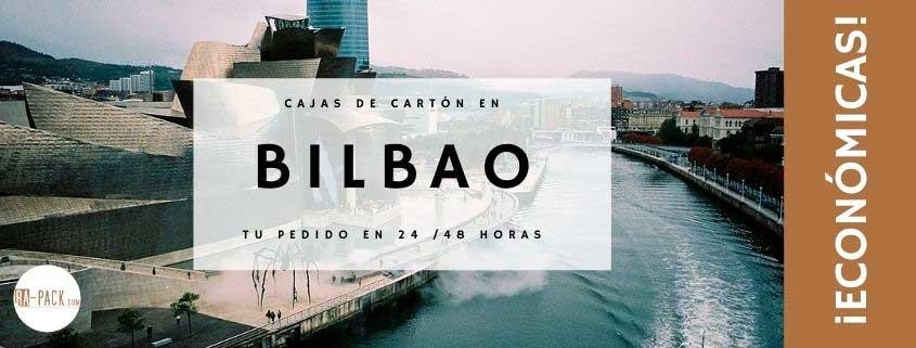 Comprar cajas de cartón el Bilbao