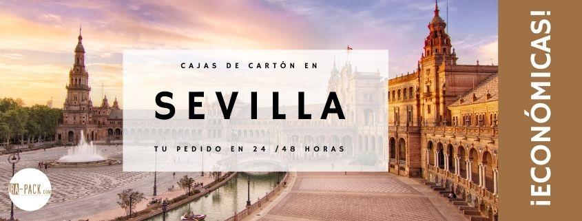 Comprar cajas de cartón en Sevilla