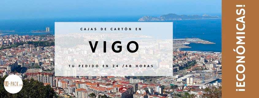 Cajas de cartón baratas en Vigo