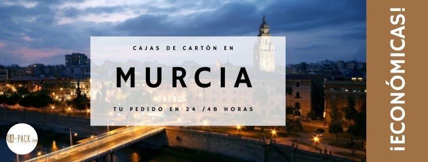 Cajas de cartón en Murcia