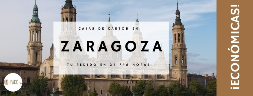 Comprar cajas de cartón en Zaragoza
